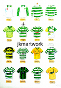 celtic shirts print